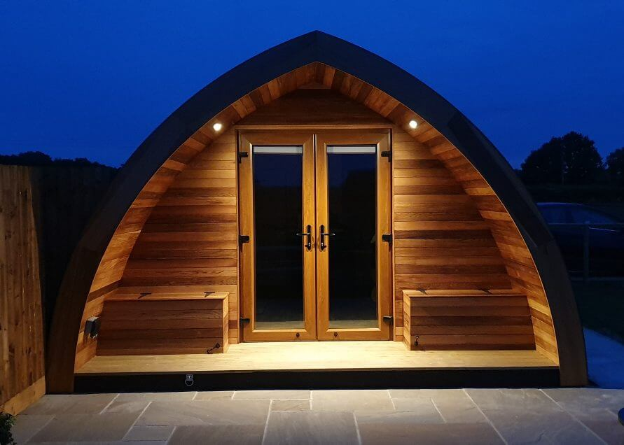 Chamomile Pod Swallowsfield Luxury Glamping Pods